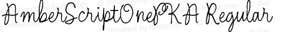 AmberScriptOnePKA Regular Version 1.0 Extracted by ASV http://www.buraks.com/asv