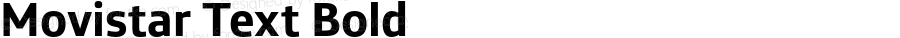Movistar Text Bold Version 1.000