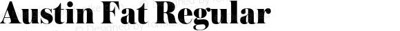Austin Fat Regular Version 1.002;PS 001.002;hotconv 1.0.56;makeotf.lib2.0.21325