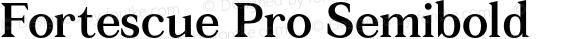 Fortescue Pro Semibold