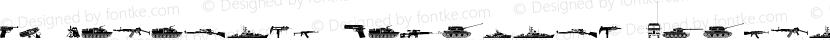FT Military Dingbats Regular Preview Image