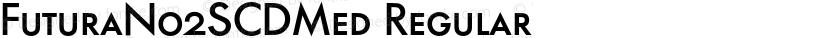 FuturaNo2SCDMed Regular Preview Image