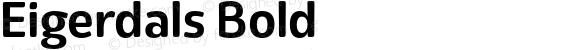 Eigerdals Bold Version 3.000