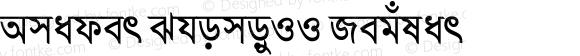Amader ShomoyII Regular 6.0.1.0