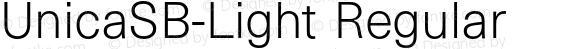 UnicaSB-Light Regular 001