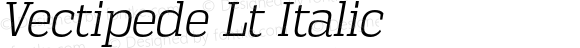 Vectipede Lt Italic