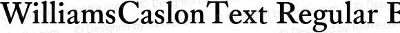 WilliamsCaslonText Regular Bold