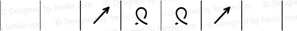 KnittingSymbols-wide-outcount wide-outcount-Medium