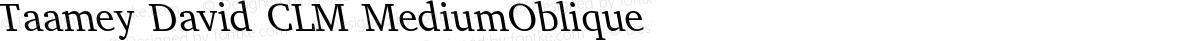 Taamey David CLM MediumOblique
