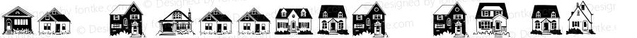 House Doodles Regular Version 1.001