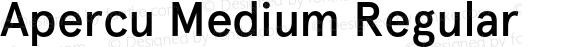 Apercu Medium Regular Version 001.001; wf-rip