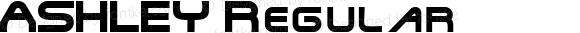 ASHLEY Regular Macromedia Fontographer 4.1.4 12/17/2002