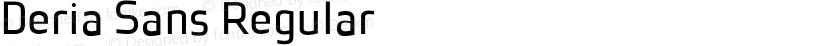 Deria Sans Regular Preview Image