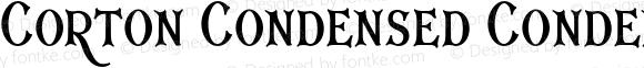 Corton Condensed Condensed Regular
