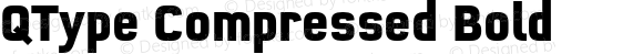 QType Compressed Bold