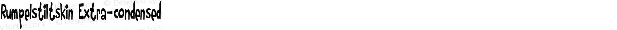 Rumpelstiltskin Extra-condensed
