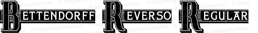 Bettendorff Reverso Regular Version 1.000 2011 initial release