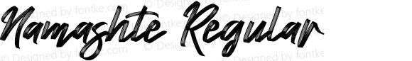 Namashte Regular