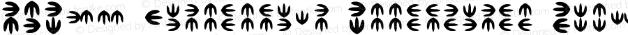 NKF04 Dinotopian Footprints Regular Version 1.02