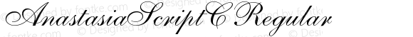 AnastasiaScriptC Regular Version 001.001