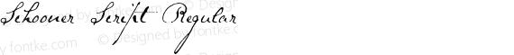 Schooner Script Regular preview image