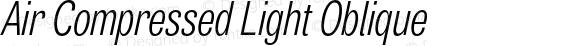 Air Compressed Light Oblique
