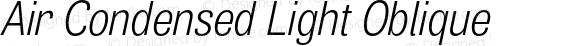 Air Condensed Light Oblique
