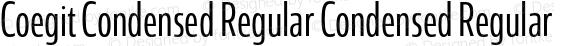 Coegit Condensed Regular Condensed Regular