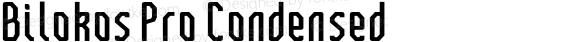 Bilokos Pro Condensed
