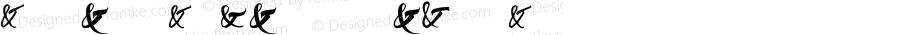 Ampersanders Regular Version 1.001;PS 001.001;hotconv 1.0.70;makeotf.lib2.5.58329 DEVELOPMENT