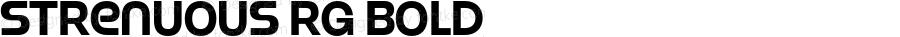 Strenuous Rg Bold OTF 4.000;PS 001.001;Core 1.0.29