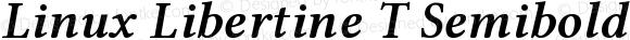 Linux Libertine T Semibold