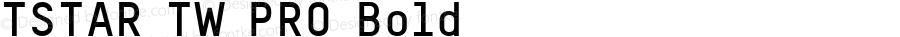 TSTAR TW PRO Bold Version 1.005 2012