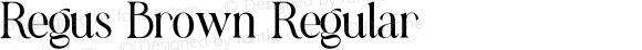Regus Brown