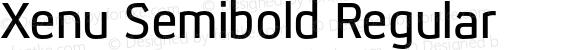 Xenu Semibold Regular