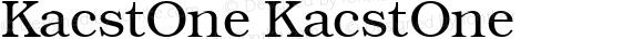 KacstOne