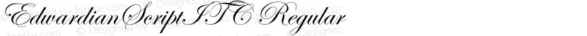 EdwardianScriptITC Regular Preview Image