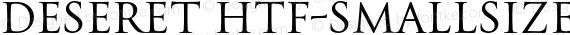 Deseret HTF-SmallSize Regular preview image