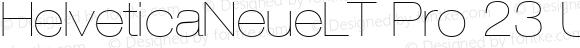 HelveticaNeueLTPro-UltLtEx