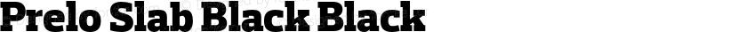 Prelo Slab Black Black Preview Image