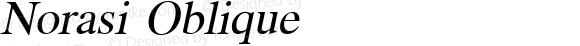 Norasi Oblique