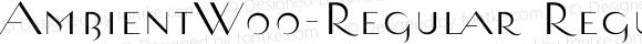 AmbientW00-Regular Regular Version 1.00