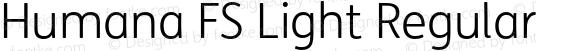 Humana FS Light Regular