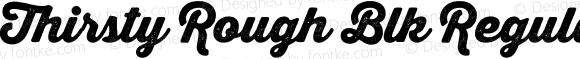 Thirsty Rough Blk Regular