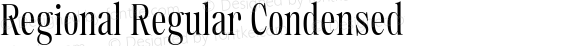 Regional Regular Condensed