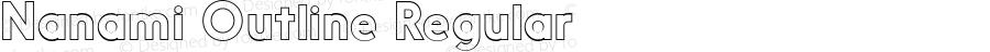 NanamiOutline-Reg