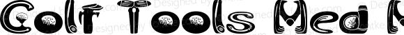 Golf Tools Med Medium Version 1.00 2012