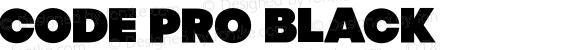 Code Pro Black