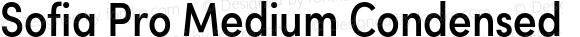 Sofia Pro Medium Condensed