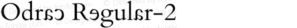 Odrac Regular-2